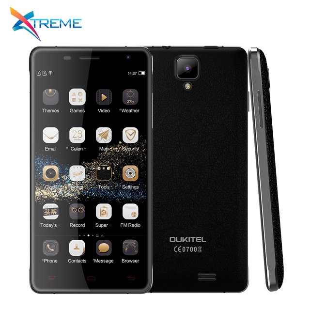 "Original Oukitel K4000 Pro 4G LTE Mobile Phone MTK6735P Quad Core Android 5.1 5.0"" 2GB RAM 16GB ROM 5.0MP OTG 4600mAh"