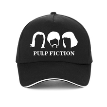 the film Pulp Fiction cap New summer Men Women Baseball caps 100%Cotton hat Harajuku adjustable snapback hats