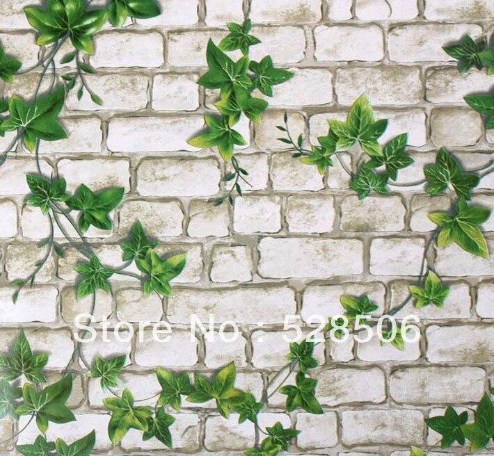 Pvc Self Adhesive Wallpaper Ivy Wallpaper Bedroom Living