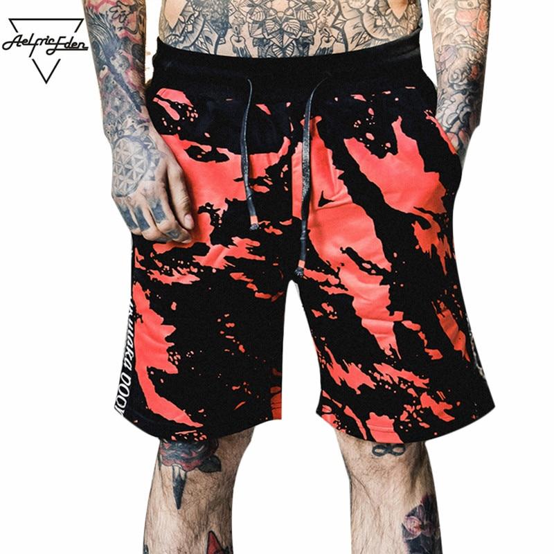 f0e9e0d600ba מכנסי קז'ואל לגבר - Aelfric Eden 3d Painted Camouflage Mens Shorts Men 2018  Summer Casual Men's Shorts Camo Graffiti Hip Hop Shorts Beach Wear OF048