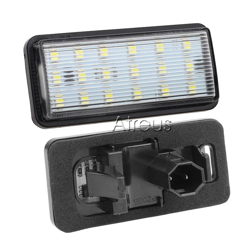 Atreus 2X Araba LED Plaka Işıklar 12 V araba-styling Için Toyota - Araba Farları - Fotoğraf 4