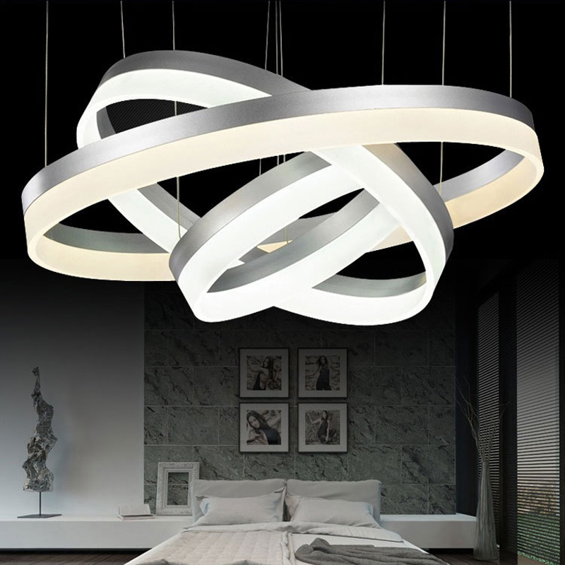 buy modern led crystal pendant light 2 3. Black Bedroom Furniture Sets. Home Design Ideas