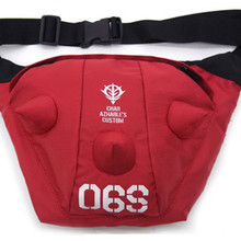 Fashion Gundam Bag Waist Anime Stundent Schoolbag Shoulder Messenger Bags