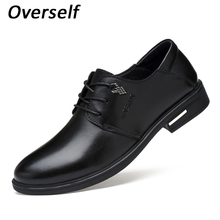 Men's Dress Shoes Genuine Leather Formal Shoe For Men High Quality  Mens Oxfords Business Formal Flats Luxury Wedding Style