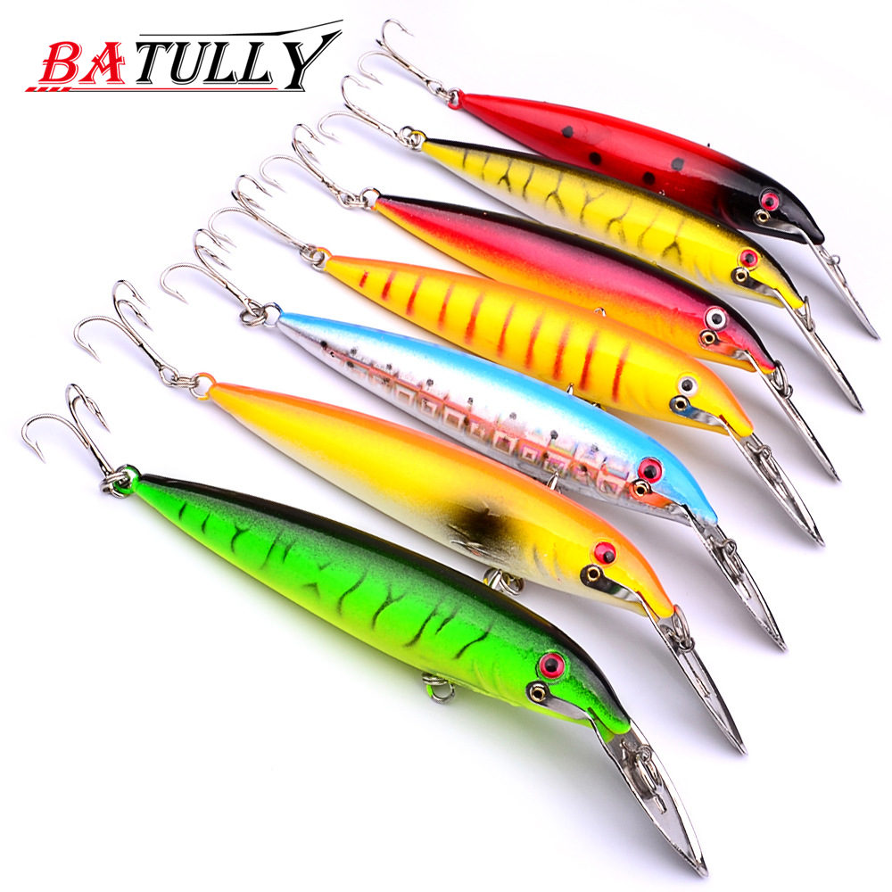 BATULLY 1PC Wobbler Fishing Lure Floating Minnow 140mm 16g Hard Fishing Lures With Tungsten Bass Pike Peche Isca Artificial Bait noeby floating minnow bass pike carp walleye trout plastic fishing wobbler hard baits swimbaits artificial lure set sea 10cm 12g