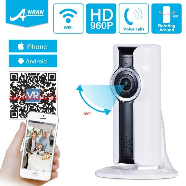 ANRAN Mini 960 P Wifi VR Caméra Sans Fil IP Caméra HD 180 Angle ...