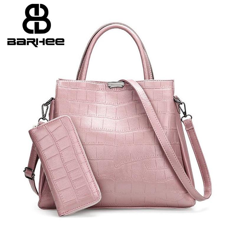 BARHEE alligátor kézitáska és erszényes női táska táskák - Kézitáskák