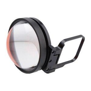 Image 4 - CAENBOO Action caméra objectif filtres Go Pro Hero 5 6 7 Super Macro 24X gros plan rouge plongée sous marine pour GoPro Hero5/6/2018 noir