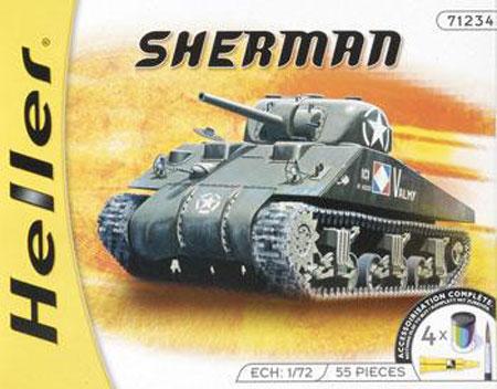 49983 1/72SHERMAN Sherman Tank Suit with Paint Brush
