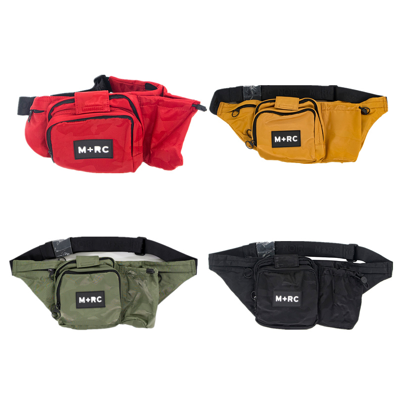 18ss M RC bags men women fear of god hip hop pillow pf kanye west streetwear cotton fabric Waist Packs bum Oblique waist bag euramerican style baggy hip hop men jeans widened increase skateboard pants comfortable mid waist casual mens streetwear jeans