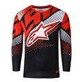 Moto jerseys 2016 nova fahion aparelhos de moto moto jerseys de ciclismo motocross downhill clothing ações claras