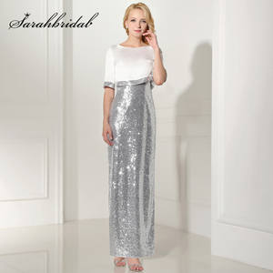sarahbridal Evening Long Dresses with 2 Pieces Party Gowns a56f846a3a41