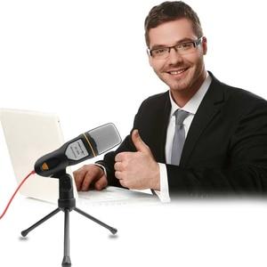 Image 5 - FELYBY profesjonalny mikrofon pojemnościowy dźwięk Podcast Studio Microfone na PC i telefon Laptop biuro spotkanie mowy Karaoke