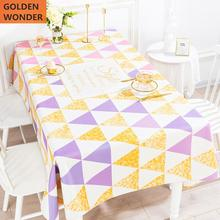 European style Fresh Table Cloth Rectangular Living Room Deskcloth