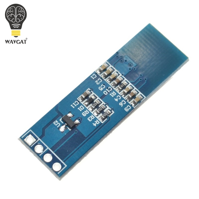 """WAVGAT 0.91 inch OLED module 0.91"""" Blue White OLED 128X32 OLED LCD LED Display Module 0.91"""" IIC Communicate 4"""
