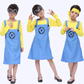 Free shipping 2016  now Halloween costumes Children's Day doll small yellow cartoon show clothing cute girls cosplay costume