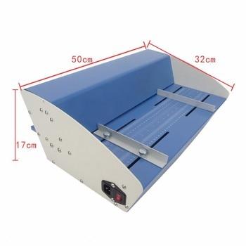 цена на 460mm Electric Paper Creaser 18 Inch Creasing Machine Scorer Perforator 3 in 1 Combo Paper Perforating Machine YH-460e