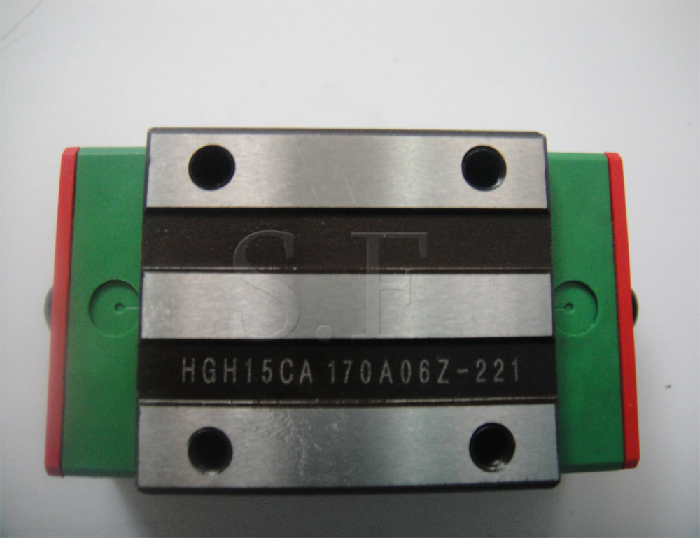 HIWIN  1pcs HGH15CA linear bearing Narrow carriage sliding block for HGR15 15mm linear guide for CNC Router