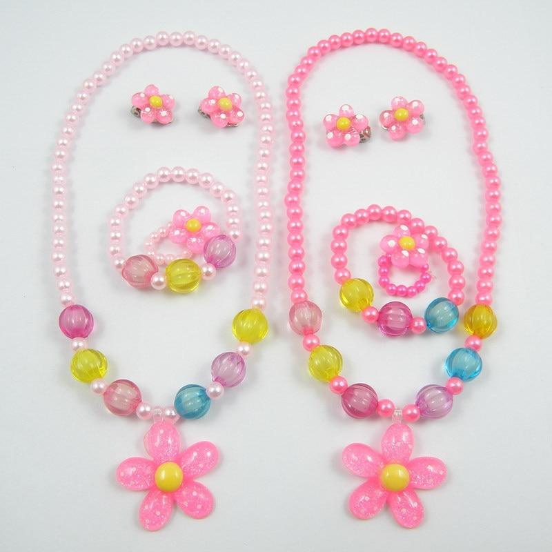 1 Set Jewelry Rose Flower...
