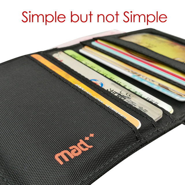 2020 Minimalist Slim Nylon Wallet For Men Women Slimline Ultra Thin Mini Small Male Female Zipper Coin Purse Compact Money Bag 4