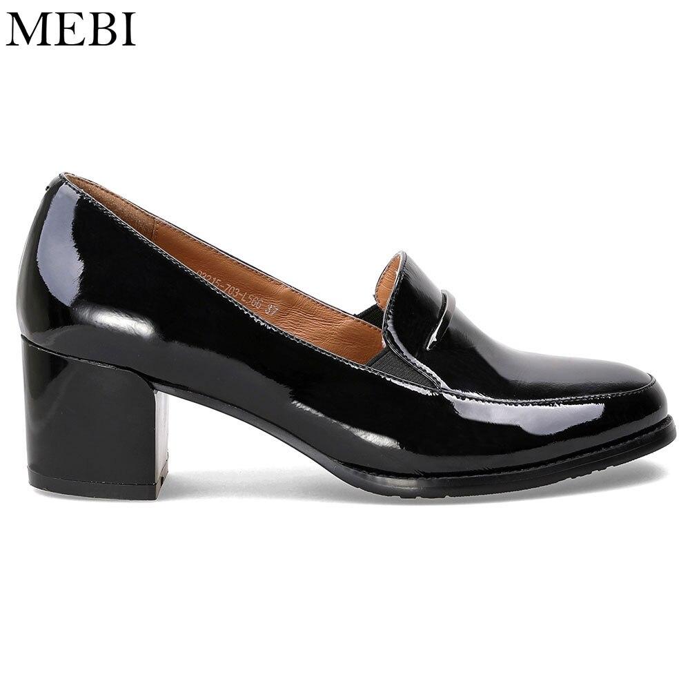 Med Frauen Schuhe Slip Lady Pumps Quadratischer Gre On SchwarzWein High Heels Mebi Frau Pump Plus 12 Leder Absatz Rotwein sQdCrth