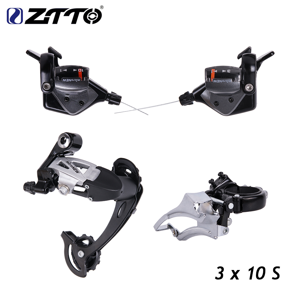 Bicycle MTB 3X10 30 Speed Front Rear Shifter Derailleur Groupset for Shimano m610 m670 m780 system original microshift bicycle derailleur set ts83 9 shifters 3x9 speed trip mtb bike derailleur groupset compatible for shimano