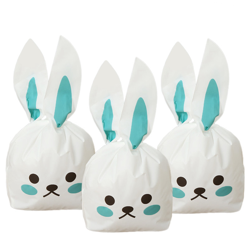 bunny rabbit ear ties gift bag  50 piece set