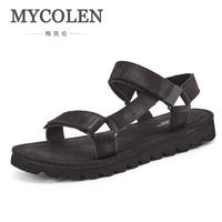 MYCOLEN New Fashion Man Beach Sandals Summer Men'S Luxury Designer Outdoor Shoes Roman Men Casual Shoe Summer Men'S Sandals
