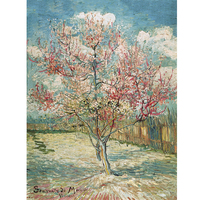 New Arrival Puzzle Toy 1500 Pcs Van Gogh Painting Peach Tree Souvenir De Mauve Wooden Paper Puzzles Gift for New Year Gift
