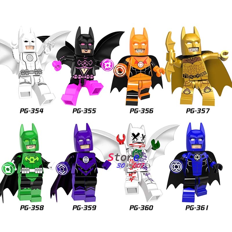 Single Super Hero Marvel DC Joker Clan of the Cave White Red lantern Batman Comics building blocks bricks toy for children ник кейв maximum nick cave the unauthorised biography of nick cave