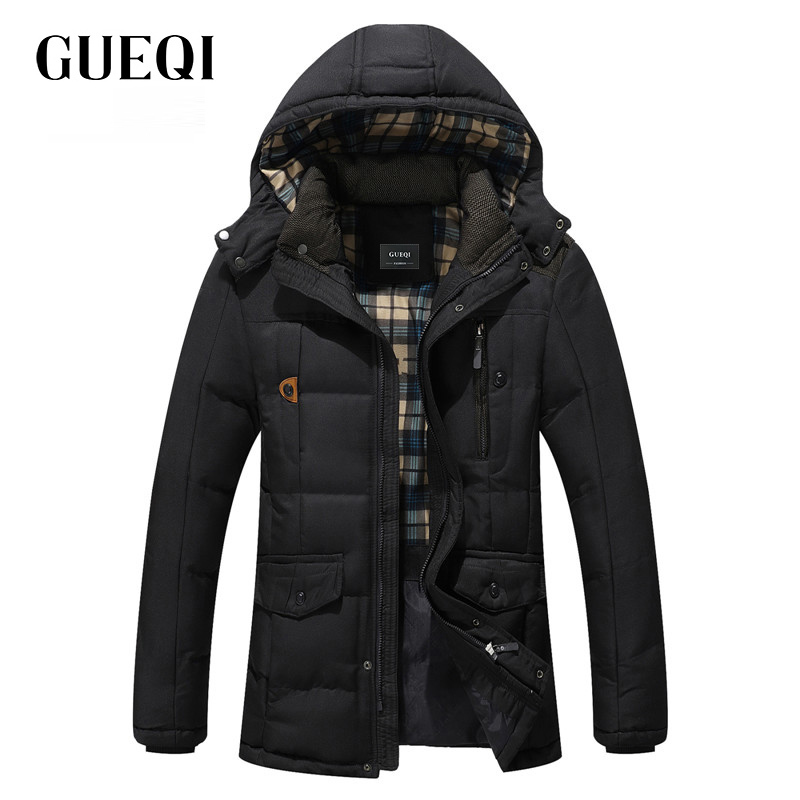 Подробнее о GUEQI 2017 Men New Winter Jacket Brand Clothing Warm Casual Solid Men's Popular Hooded Parkas For Male Jackets Outwear Coats 812 winter jacket men coats thick warm casual fur collar winter windproof hooded outwear men outwear parkas brand new