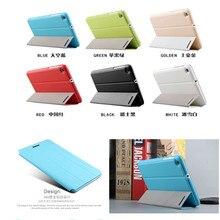 Lujo pu del soporte de cuero de filp case cubierta para huawei mediapad t1 7.0 pulgadas t1-701u t1 701u bgo-dl09 lte tablet