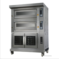 Commercial gas/electric oven 4 trays oven+10 trays ferment tank Multi function integration oven Bread/pizza/tart baking machine