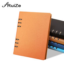 2016 creative stationery spiral notebook diary leather agenda daily planner organizer a5 a6 b5 note book school office supplies a5 a6 6holes heart hand account page notebook notebook agenda caderno escolar office school supplies