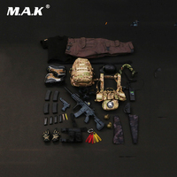1/6 Scale Male Clothes Set PMC Private Military Contractor Combat Set Weapon Toys for 12'' Man Action Figure