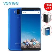 "Vernee x 6 ""Pantalla Completa smartphone Face ID 6200 mAh 4G 64G octa Core Android 8.1 16MP 2160×1080 p 4G LTE teléfono móvil 4 cámaras"