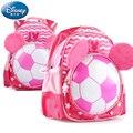 Presente de Ano novo Da Disney Crianças saco de jardim de infância 3-6 anos de Futebol bebê adorável Mickey Mouse mochila Saco De Armazenamento Portátil meninas