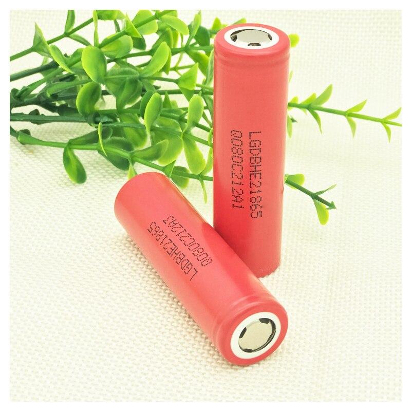 Cros originale per LG HE2 IMR18650 3.7 V 2500 mAh Ricaricabile batteria Per LG e-sigaretta batterie ad alto assorbimento