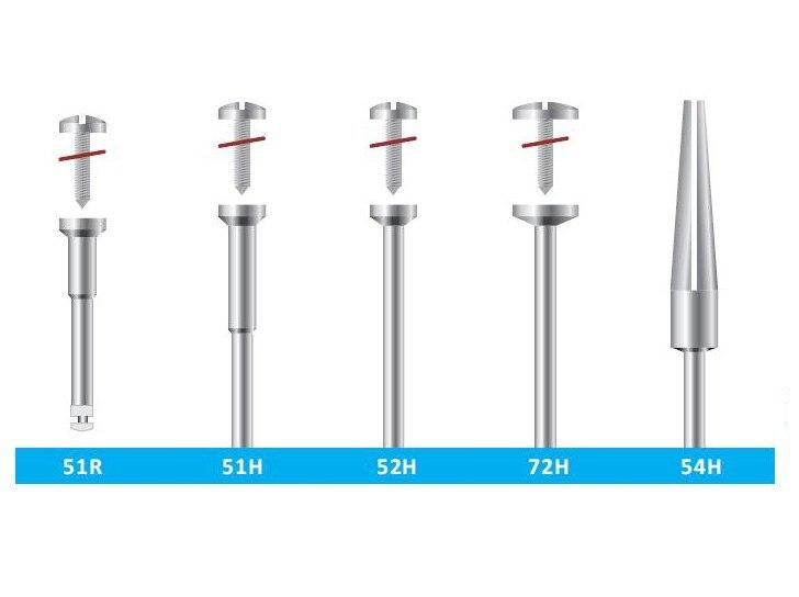 10pcs dental mandrels New Dental Lab Polishing 2.35mm shank diameter Mandrel Burs Rotary Tool Dentist Lab Product