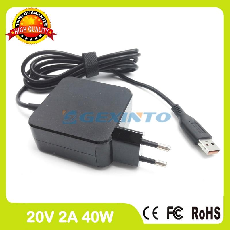 20V 2A ac adapter 36200574 ADL40WDC ADL40WDD 36200575 36200576 ADL40WDE laptop charger for Lenovo Yoga 3 Pro 13-5Y70 13-5Y71 20v 2a 5 2v 2a usb ac power adapter for lenovo yoga 3 pro 13 5y70 13 5y71 tablet pc charger 36200566 adl40wcg adl40wch 36200567