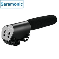 Saramonic Vmic Video Mic Broadcast Quality Professional Audio Stereo Condenser Microphone for Canon Nikon Sony DSLR Camcorder