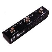 Moen AB BAR Loop Effects High Quality Switcher Guitar Effect Pedal True Bypass Design