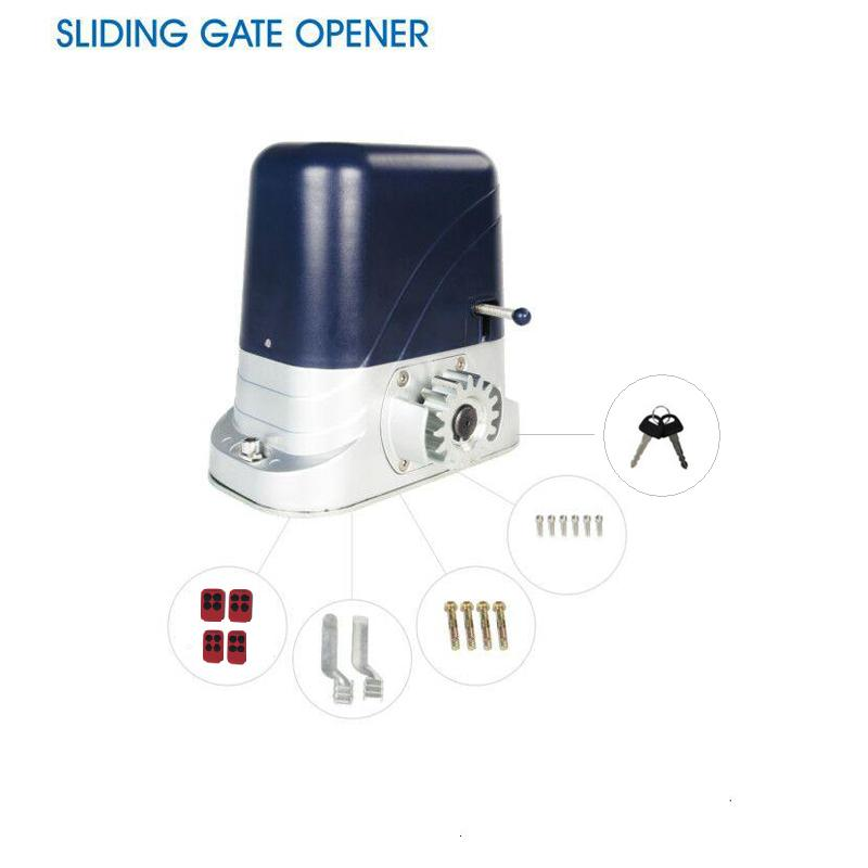 800kg loading Automatic sliding gate opener operator motor with 4 remote control keyfobs батарейку на lg kg 800