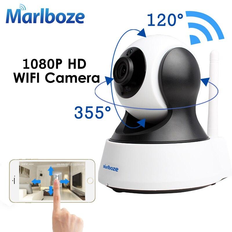 Marlboze 1080 p HD Wifi IP cámara inalámbrica CCTV hogar seguridad vigilancia Cámara IR visión nocturna bebé Monitor cámara interior