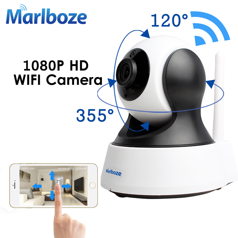 Marlboze 1080P HD Wifi IP Camera Wireless CCTV Home Security Surveillance Camera IR Night Vision Baby Monitor Indoor Camera