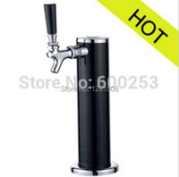 Good quality !!! One tap BLACK beer tower SIZE: Dia.63*300
