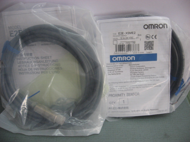 [ZOB] 100% new original OMRON Omron proximity switch E2E-X5ME2 2M [zob] new original omron shanghai omron proximity switch e2e x18me1 2m 2pcs lot