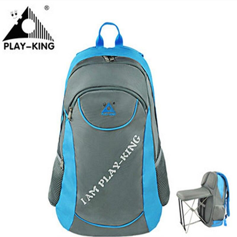 PLAYKING sac à dos extérieur pêche sac à dos pliant multifonction sac de Sport en plein air voyage Nylon Polyester sacs à dos femme C1313