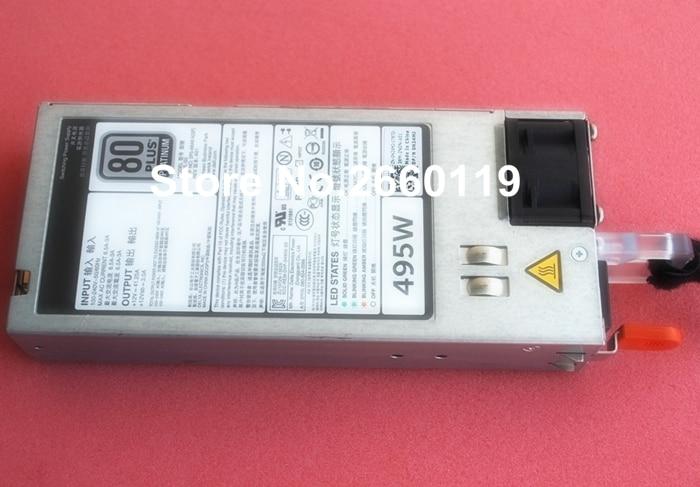 power supply for R520 R620 R720 D495E-S0 N24MJ 3GHW3 0N24MJ 03GHW3 495W, fully tested 100% working power supply for r620 r720 r720xd yt39y 0yt39y 0cc6wf 1100w fully tested