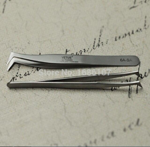 Очаровательный Ресницы 2017 из нержавеющей для продажи брови инструменты профессиональный плоским наконечником ножницы пинцет